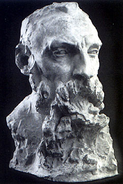 Auguste Rodin bust